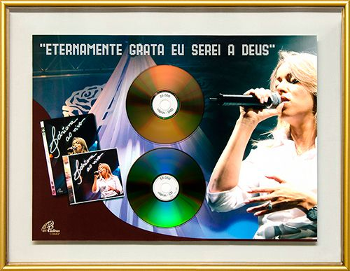 2008 (CD) e 2009 (DVD) -  Adriana Ao vivo